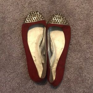 Shoes - Studded ballet slippers